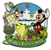 Disney Easter Pin - 2012 Mickey Mouse and Goofy