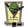 Disney Star Wars Weekend Pin - 2012 Yoda Sculpted Lightsaber
