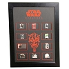 Disney Star Wars Weekend Pin - 2012 Framed Set - 10 Pins