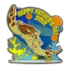 Disney Father's Day Pin - 204H2 Crush & Squirt