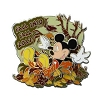 Disney First Day of Autumn Pin - 2012 - Fall Into 2012 Mickey Mouse