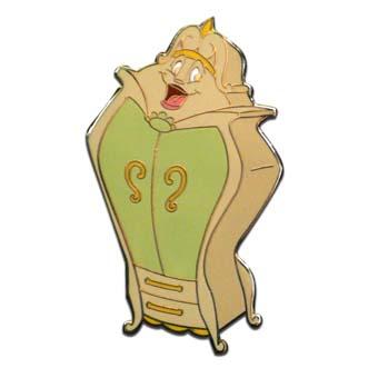 Disney Beauty And The Beast Pin The Wardrobe