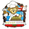 Disney Food & Wine Festival Pin - 2012 Chef Duffy the Disney Bear