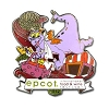 Disney Passholder Pin - Food & Wine Festival Pin 2012 - Figment