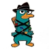 Disney Christmas Pin - Agent P from Disney's Phineas and Ferb