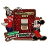 Disney Osborne Lights Pin - 2012 Mickey & Goofy