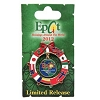 Disney Holidays Around The World Pin - 2012 Flags Wreath Logo
