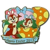 Disney Easter Pin - 2013 Happy Easter Chip n' Dale