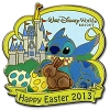 Disney Easter Pin - 2013 Happy Easter Stitch