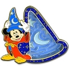 Disney Mickey Icon Pin - Sorcerer Mickey Mouse Maze Pin