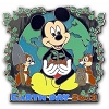Disney Earth Day Pin - 2013 Mickey Mouse Chip and Dale