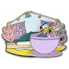 Disney Donald Duck Pin - Donald and Daisy Slider Pin