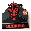 Disney Mystery Pin - Star Wars Zodiac - Darth Maul - Scorpio