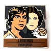 Disney Mystery Pin - Star Wars Zodiac - Luke and Leia - CHASER