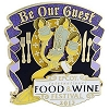Disney Passholder Pin - Food & Wine Festival Pin 2013 - Lumiere