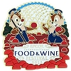 Disney Food & Wine Festival Pin - 2013 Chip and Dale