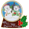 Disney Very Merry Christmas Party Pin - 2013 Mickey & Minnie Snowglobe