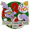 Disney Holidays Around The World Pin - 2013 Santa Figment