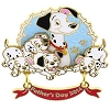 Disney Father's Day Pin - 204H4 - Pongo with Puppies