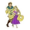 Disney Tangled Pin - Rapunzel and Flynn Tangled in Hair