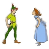 Disney Peter Pan Pin Set - Peter Pan and Wendy
