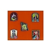 Disney Halloween Pin - Trick or Treat 2014 - Set of 5 Pins