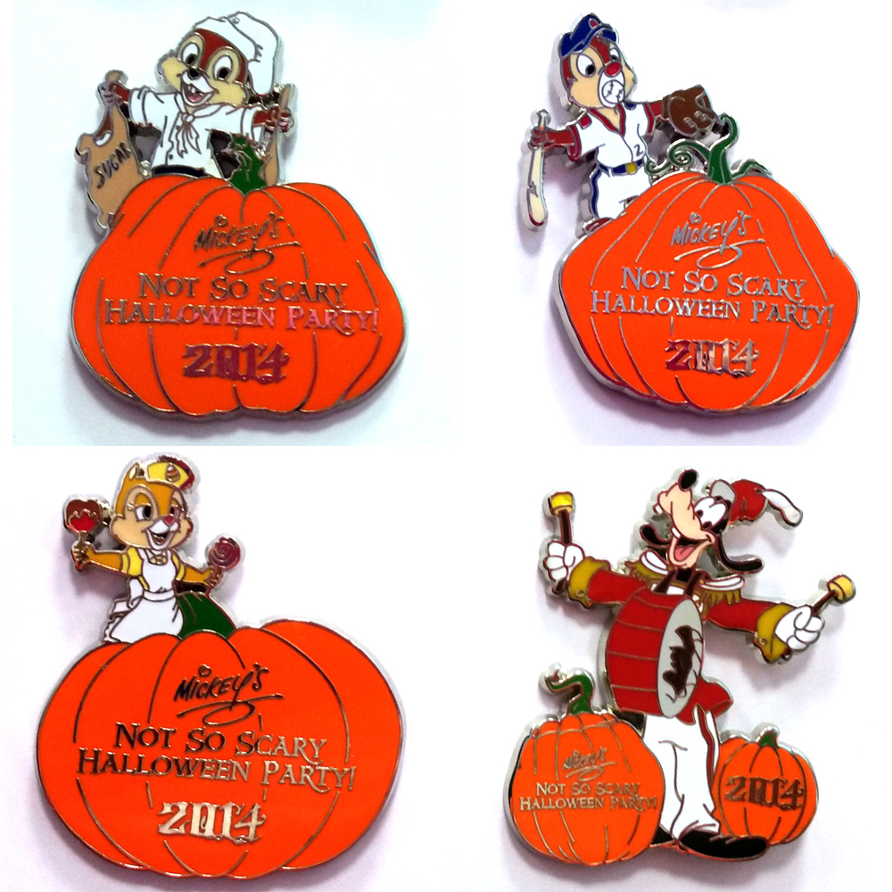 Your WDW Store - Disney Mystery Pins - 2014 Mickey's Halloween ...