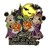 Disney Mickey's Not So Scary Halloween Party Pin - 2014 Mickey and Minnie