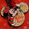 Disney Christmas Pin - Santa Minnie Ornament - Mistletoe Kisses