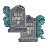 Disney Halloween Pin - Haunting Halloween 2014 - Bride and Ghost