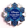 Disney Resort Holidays Pin - 2014 Old Key West Resort - Chip n Dale