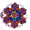 Disney Resort Holidays Pin - 2014 Pop Century Resort - Mickey Mouse
