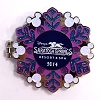 Disney Resort Holidays Pin - 2014 Saratoga Springs - Horace