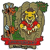 Disney Pooh Pin - Many Adventures of Winnie-the-Pooh 10th Anniversary