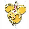 Disney Happy Birthday Pin - Mickey Balloon