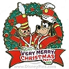 Disney Very Merry Christmas Party Pin - 2009 Goofy and Wooden Soldier