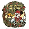 Disney First Day of Autumn Pin - 2009 - Mickey Mouse