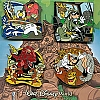 Disney Booster Pin Collection - Disney's Animal Kingdom Theme Park