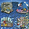 Disney Booster Pin Collection - Epcot