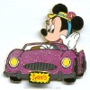 Disney Surprise Pin - Glitter Cars - Minnie Mouse