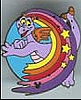 Disney Cast Lanyard Pin - Figment Rainbow - Right