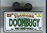 Disney Cast Lanyard Pin - License Plates - DOOMBUGY