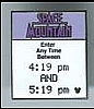 Disney Cast Lanyard Pin - Fastpass - Space Mountain