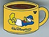 Disney Cast Lanyard Pin - Coffee Mugs - Donald Duck