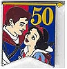 Disney Cast Lanyard Pin - 50th Banner Princess - Snow White and Prince