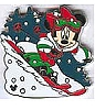 Disney Cast Lanyard Pin - Holidays - Minnie Mouse