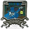 Disney Gold Card Pin - The Haunted Mansion - Ghost Hearse