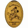 Disney Pressed Quarter - Celebration - Fantasmic Mickey
