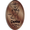 "Disney Pressed Penny - Duffy ""Duffy The Disney Bear"""