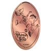 Disney Pressed Penny - Phineas and Ferb Jumping